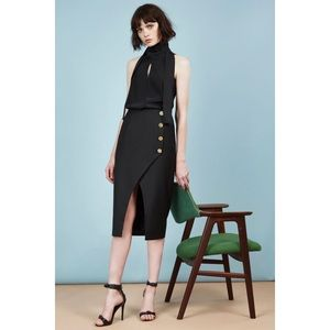 C/meo Collective City Sounds Skirt in Black